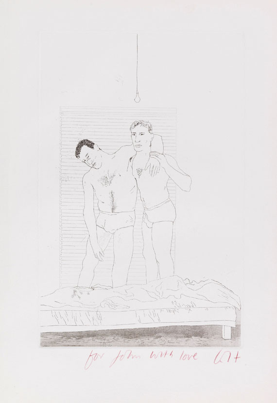 Hockney, David - Etching