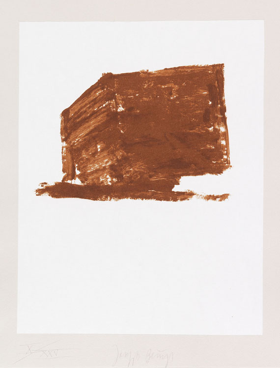 Beuys, Joseph - Lithograph in colors