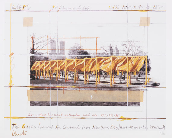 Christo - Offset in colors
