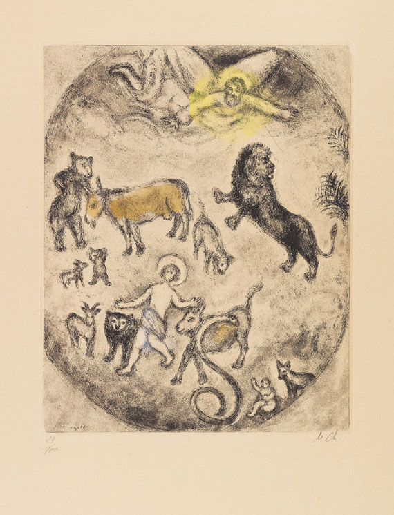 Chagall, Marc - Etching