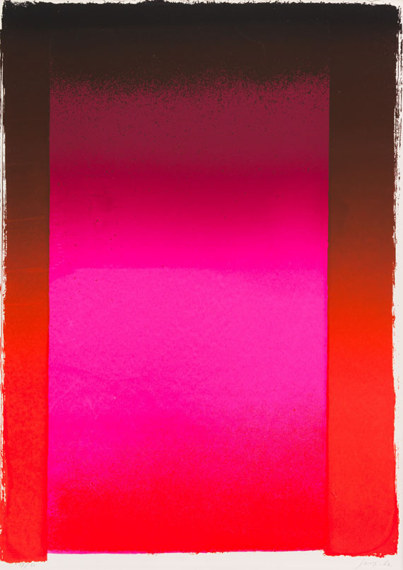 Geiger, Rupprecht - Silkscreen in colors