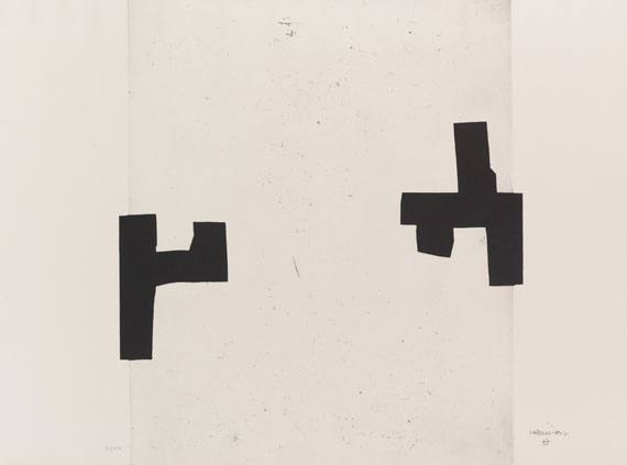 Chillida, Eduardo - Etching and aquatint