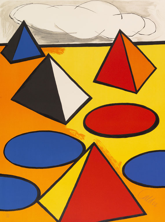 Calder, Alexander - Lithograph in colors