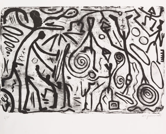 Penck (d.i. Ralf Winkler), A. R. - Photo-lithograph