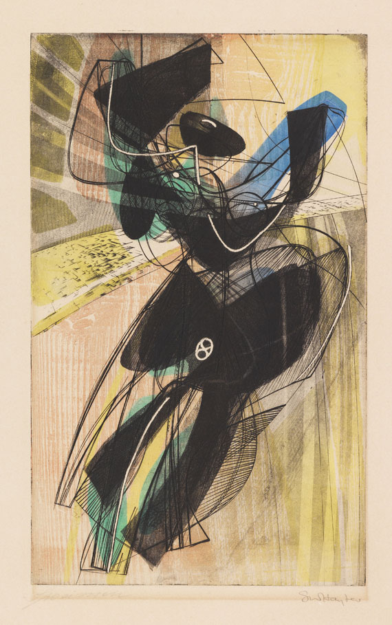 Hayter, Stanley William - Etching in colors