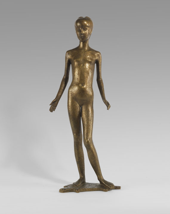 Schiffers, Paul Egon - Bronze